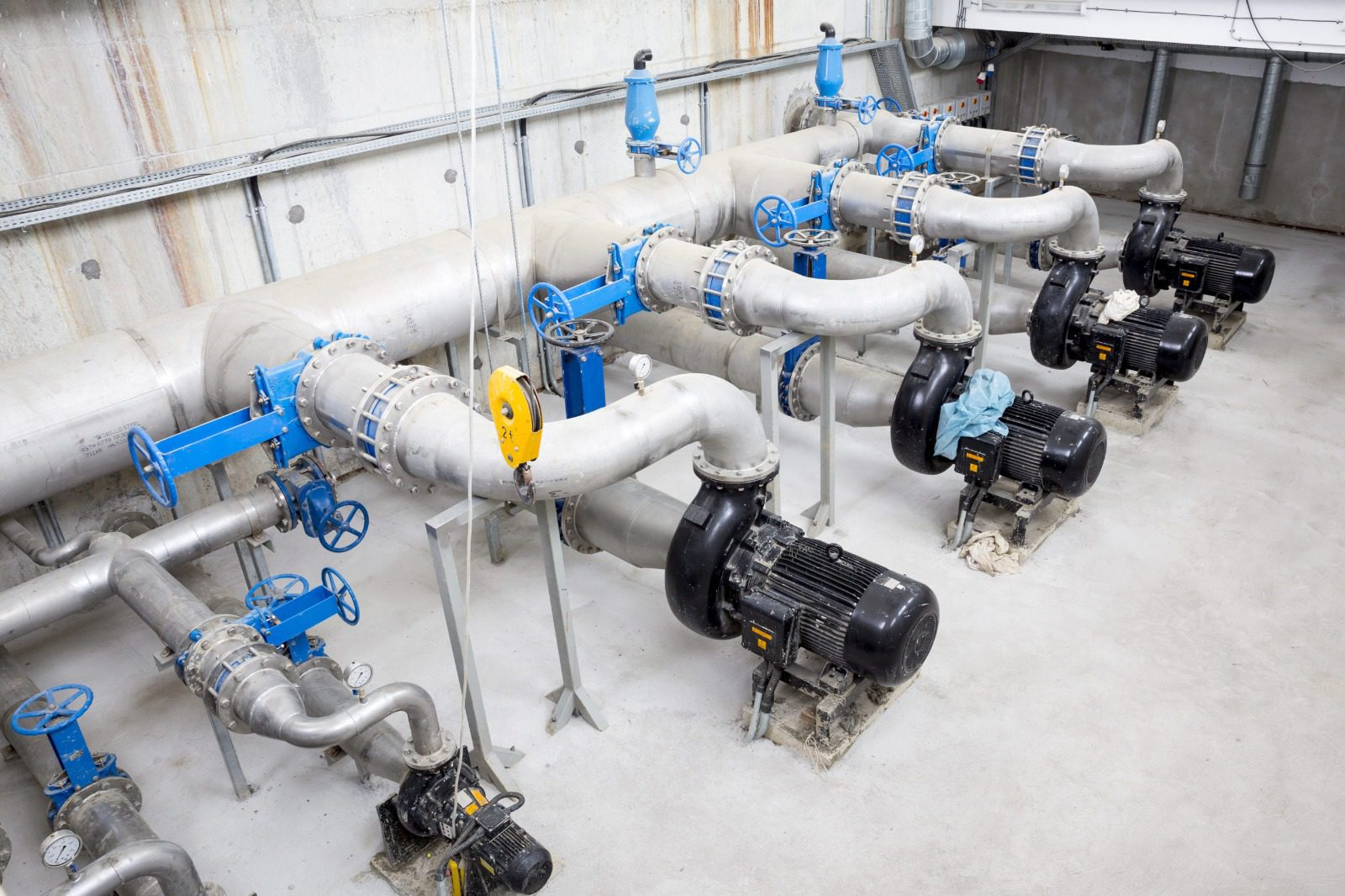 Predictive maintenance is an effective solution for hard-to-reach areas.